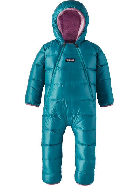 Patagonia Baby Hi-Loft Down Sweater Bunting Elwha Blue
